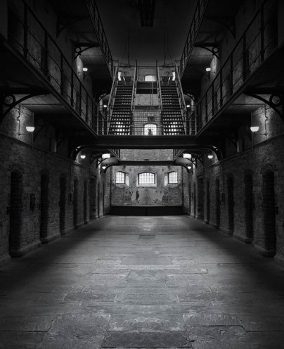 Death row prison image dark