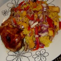 Poulet Jerk & sa Salsa de Mangue - Le plat national de la Jamaïque