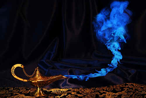 Image result for genie in a lamp