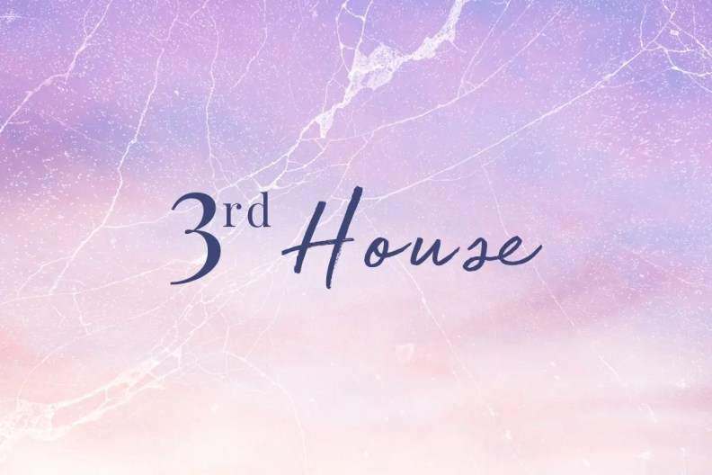 Pluto in the third house in astrology