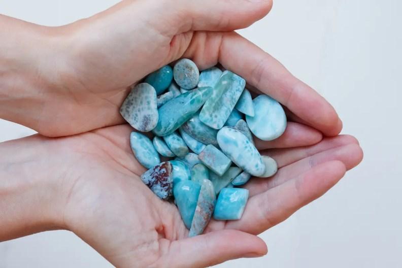 larimar crystals