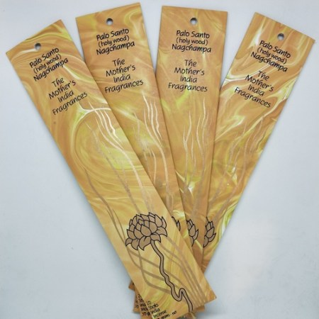 Mother's of India Palo Santo Nagchampa incense