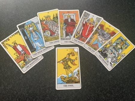 Major Arcana Cards meditation part 1