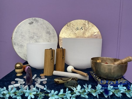 Healing with Crystals and Sound Immersion