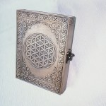 Leather Bound Journal Flower Of Life