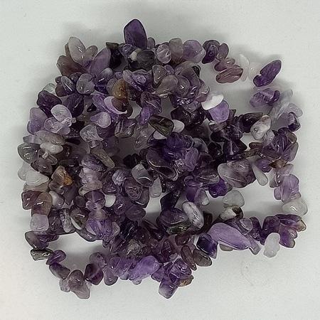 crystal chip bracelets Amethyst