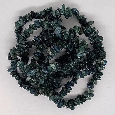 crystal chip bracelets Apatite