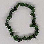 crystal chip bracelet Diopside