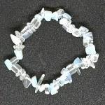 crystal chip bracelet Opalite