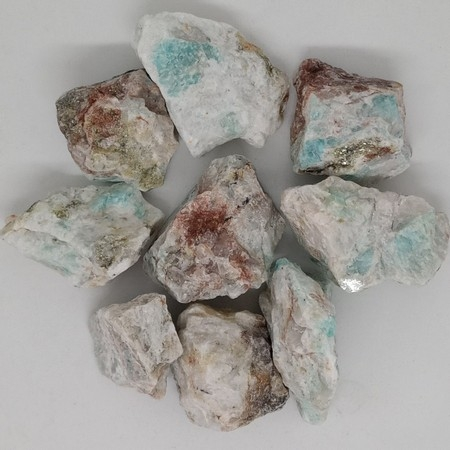 Rough Amazonite crystal