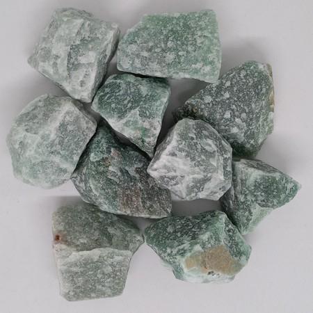 Rough Green Aventurine crystal