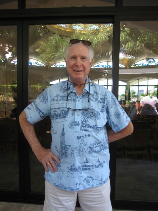 Bro. Tom from the Pohaku Marianist Community was also in attendance.