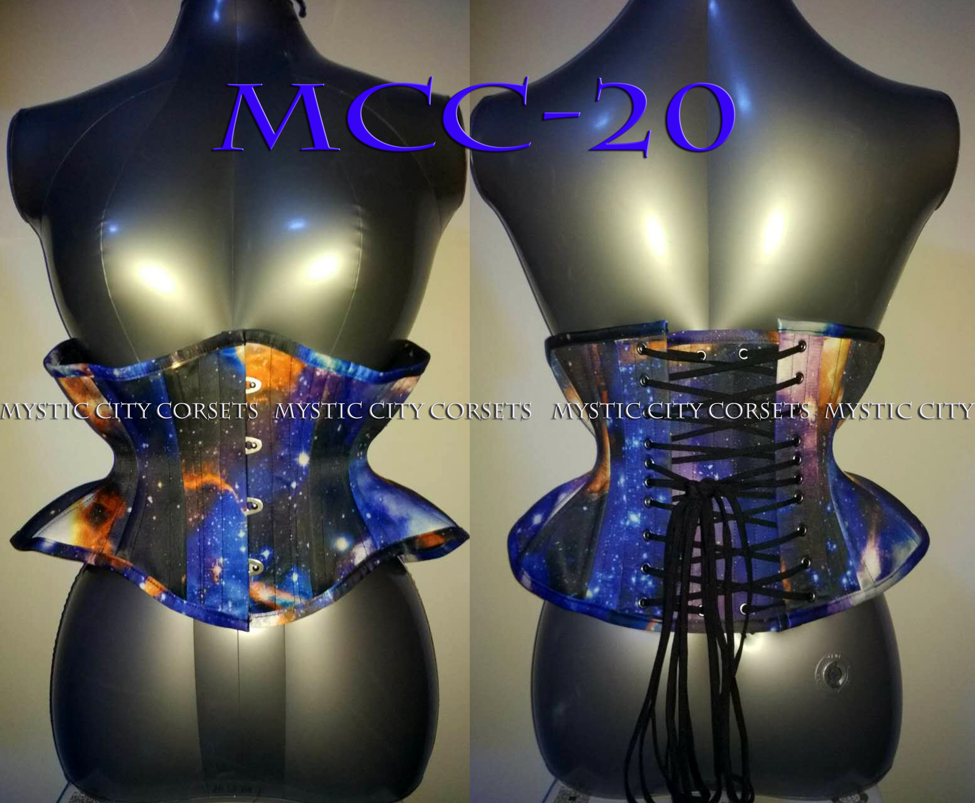 MCC20 Red & Black Spot Broche with Mesh