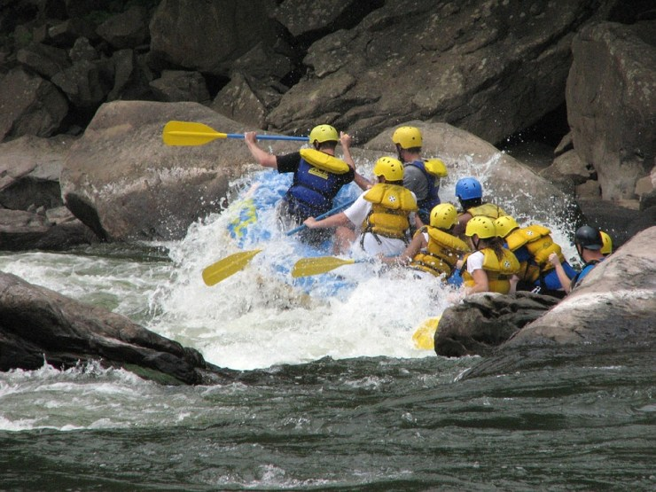 Activities In Costa Rica-Rafting Tour