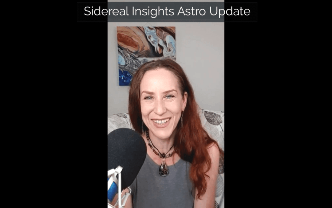 Sidereal Insights Astro Update • 9 09 2019