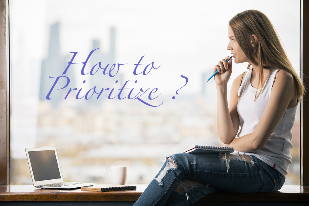 how to prioritize