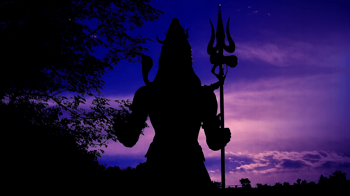 Shiva in Meditation Image