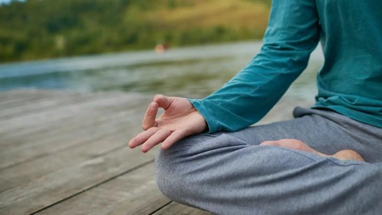 Preksha Meditation/ Gyan Mudra Image
