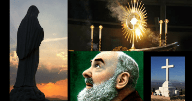 "Padre Pio's  Little Known Prophecy About Medjugorje: ""The Blessed Virgin Mary will soon be visiting your homeland."""