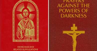 "US Bishops Publish ""Ritual Book"" for Exorcists …Issues Little-Known Prayers for Faithful Struggling against the ""Powers of Darkness"""