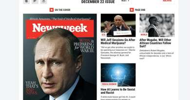 "Newsweek Magazine December 2O17:  ""PUTIN IS PREPARING FOR WORLD WAR III"""