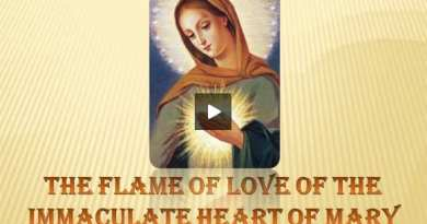 """The Flame of Love""…The Prayer that Blinds Satan…Jesus:  ""This prayer is an instrument"""