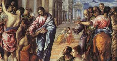 Monday 26th February 2018…Today's Holy Gospel of Jesus Christ according to Saint Luke 6:36-38.