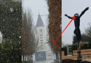 "A ""Snow Dove"" Lands on the risen Christ today in Medjugorje…'A land of miracles and surprises"""