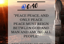 Today the World is on Fire..  Answer Our Lady's Urgent Call for Peace…Medjugorje Peace Project @6:40… Click here to learn how to become Our Lady's Apostle for Peace