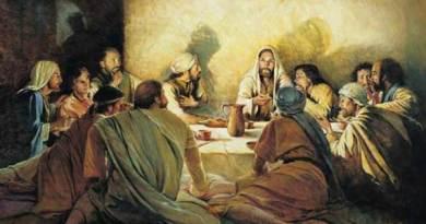 Sunday 6th May 2018  Today's Holy Gospel of Jesus Christ according to Saint John 15:9-17.