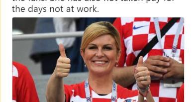 Croatian President is an Example for the World…Also the time Kolinda Grabar Kitarović Climbed Apparition Hill