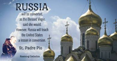 "Strange But True … Padre Pio: ""Russia will be converted …Will Teach USA a lesson in conversion""  Also Padre Pio's Mysterious Medjugorje Prophecy"