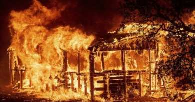 Monster wildfire in California rages.  Two firefighters Dead, 9 People Missing… Developing…