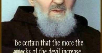 """Be Certain that the more attacks of the devil increase, that much closer is God to your soul"".!! Padre Pio"