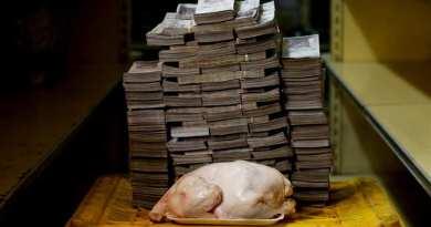 Beware of Socialism – What it costs to buy a chicken in Venezuela