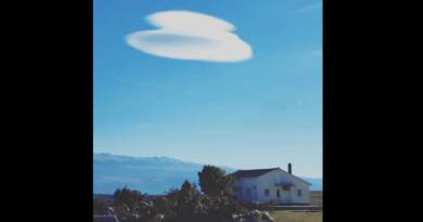 Strange Cloud Over Medjugorje…Film Maker Reports