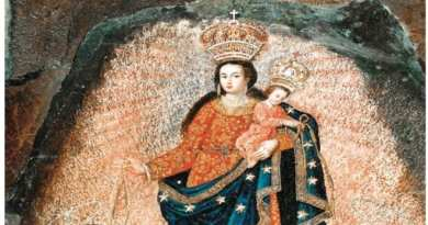 "The Wonder of the World – ""Painted by angels from Heaven"" …The Great Rock Miracle of Our Lady of Las Lajas."