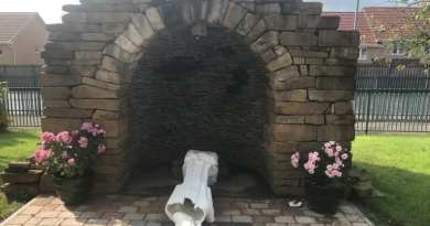 "Heartless vandals ""Devastate"" church community after smashing Statue of Our Lady of Medjugorje… The violent act occurred moments after Priest buries his father."