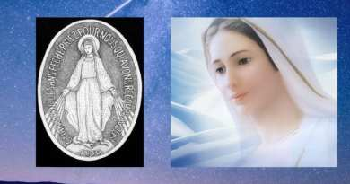"Medjugorje: The Queen of Peace's little known special request – ""I want you to pray, in a special way, for the salvation of those people who are carrying this miraculous medal. I want you to spread the devotion and the carrying of this medal"" July 13, 2019"