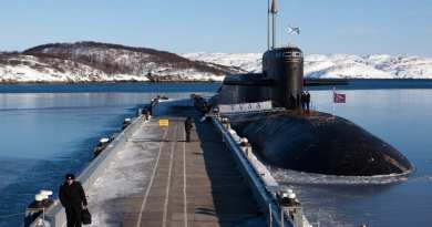 SIGNS: THE RISE OF RUSSIAN NUCLEAR ORTHODOXY… Christian temples installed onto Russian Nuclear submarines and naval vessels