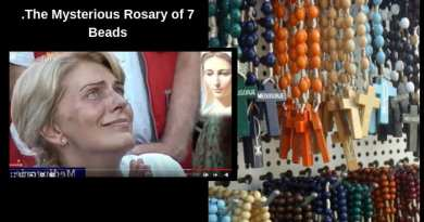 Medjugorje August 4, 2019…The Mysterious Rosary of 7 Beads that Our Lady Says Helps Free Souls from Purgatory..A reminder to recite seven Our Fathers, seven Ave Maria's and  seven Gloria Be's.