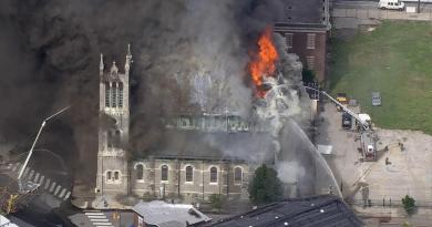 Major Fire Erupts at West Philadelphia Church