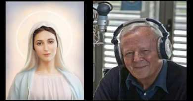"Medjugorje. Father Livio Radio Maria and the seasonal meaning in the last message… 'the doors of Christmas open – Jesus among us'  ""He will give Himself to you in the Child who is joy and peace."""