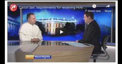 Canon law: requirements for receiving Holy Eucharist – EWTN News Nightly…