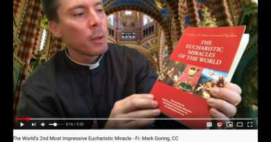 The World's 2nd Most Impressive Eucharistic Miracle – Fr. Mark Goring, CC
