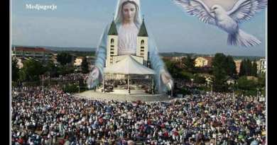 "The Jesus Prophecy of Medjugorje…""When my Son was little, he said to me that my children would be numerous and that they would bring me many roses."""