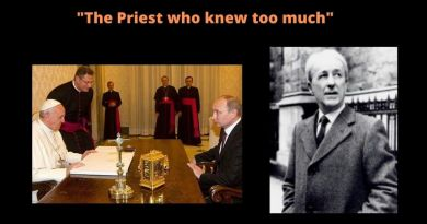 ": Fr. Malachi Martin – ""I read the 3rd Secret of Fatima"" -There will be a reckoning – a dimming of the Sun -It will be the last effort of the demons to run our life…The 3rd secret will involve Russia"""
