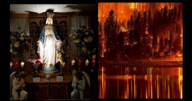 After the great fire: Now the place where real miracles happen in USA…  Miracles of healing continue to happen at this Marian shrine in Wisconsin.