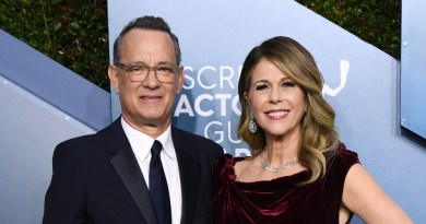 Signs: Tom Hanks and Rita Wilson have announced that they have tested positive for COVID-19