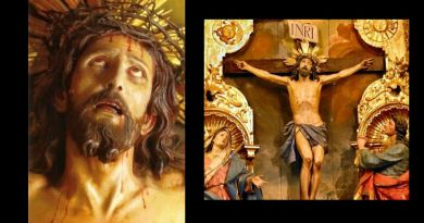 The Miraculous Crucifix of Limpias – Eyes of Jesus Open